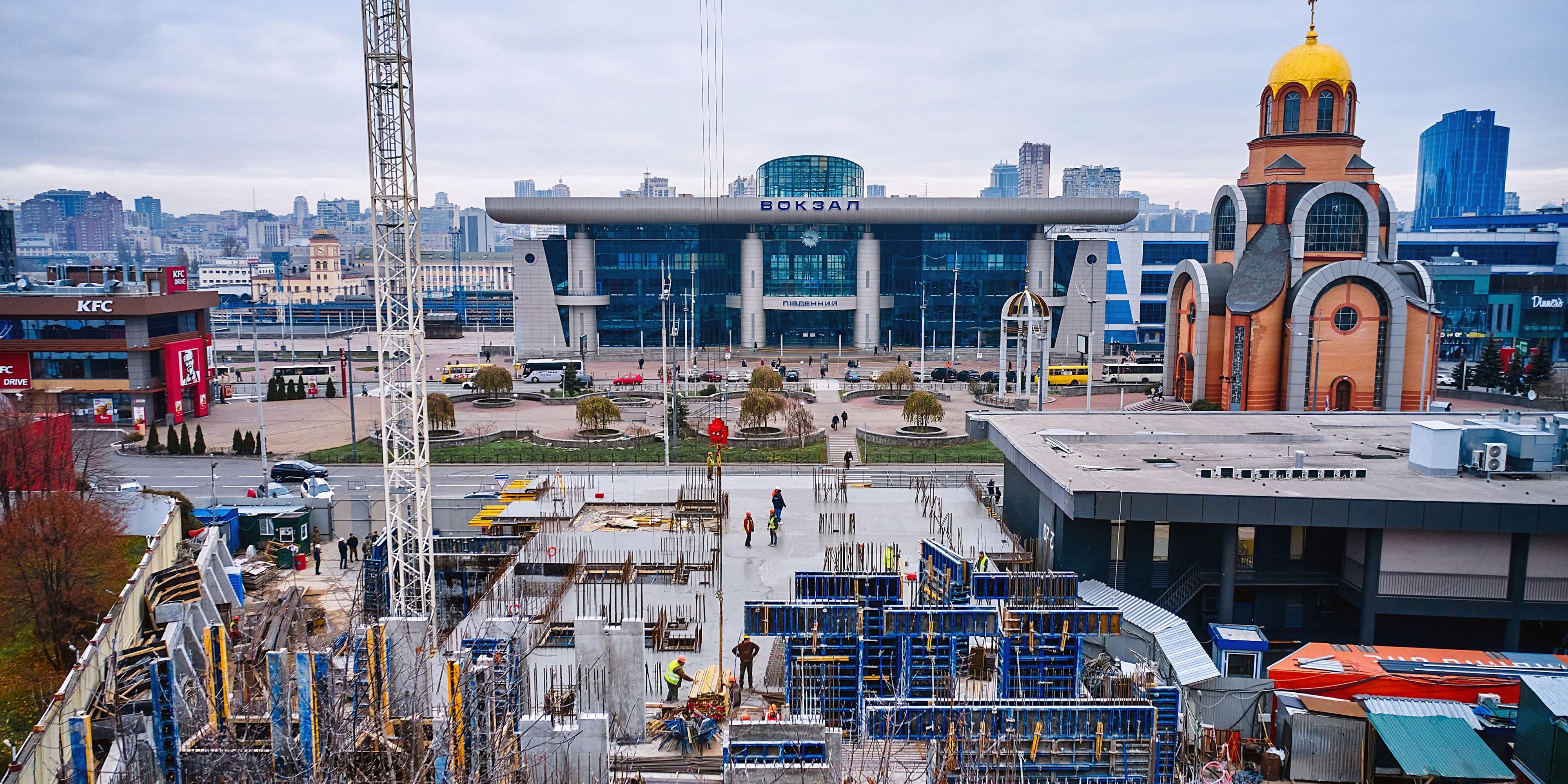 Construction progress of S1 TERMINAL. NOVEMBER 2020