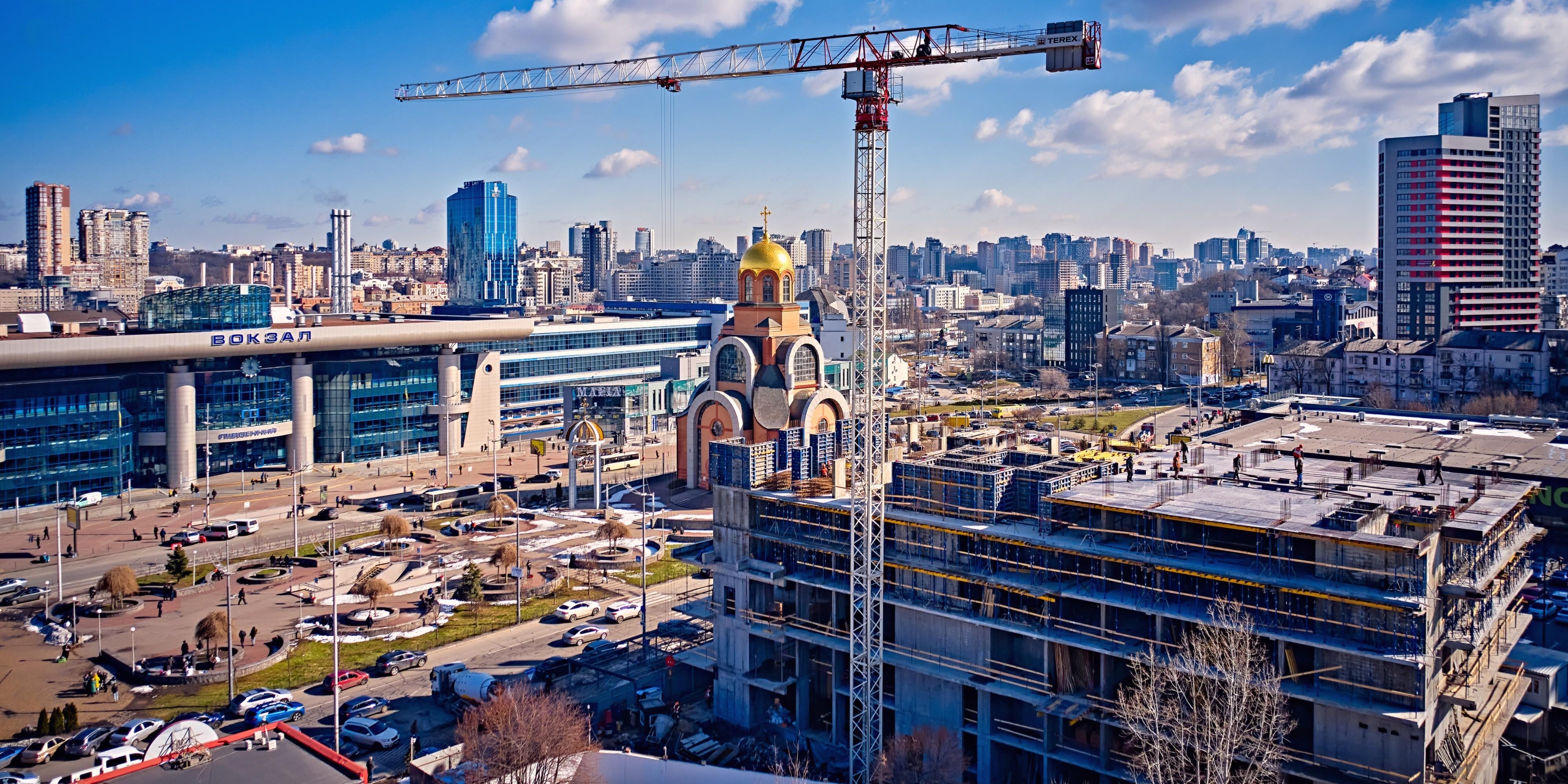 Construction progress of S1 TERMINAL. February 2021