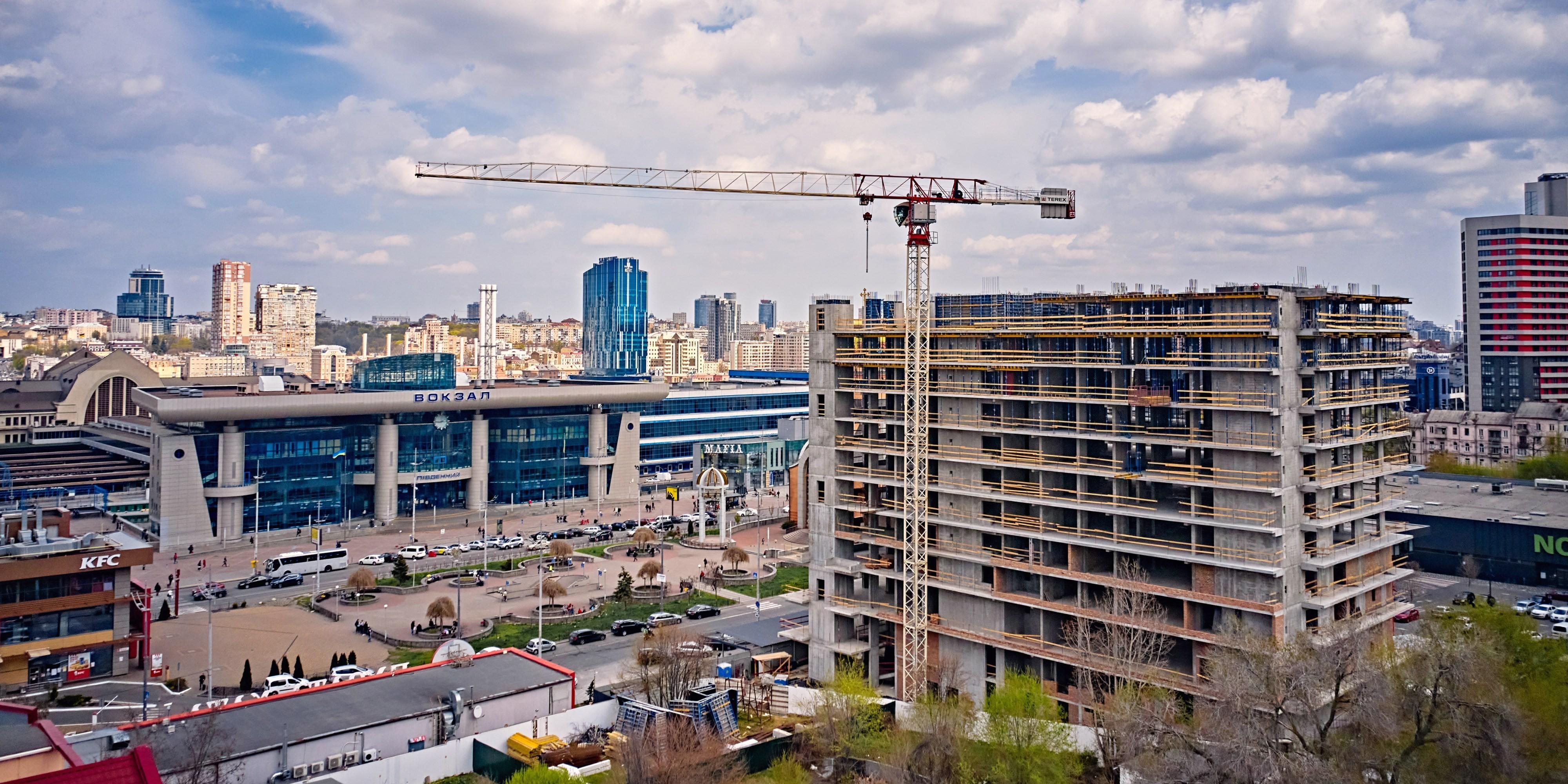 Construction progress of S1 TERMINAL. APRIL 2021