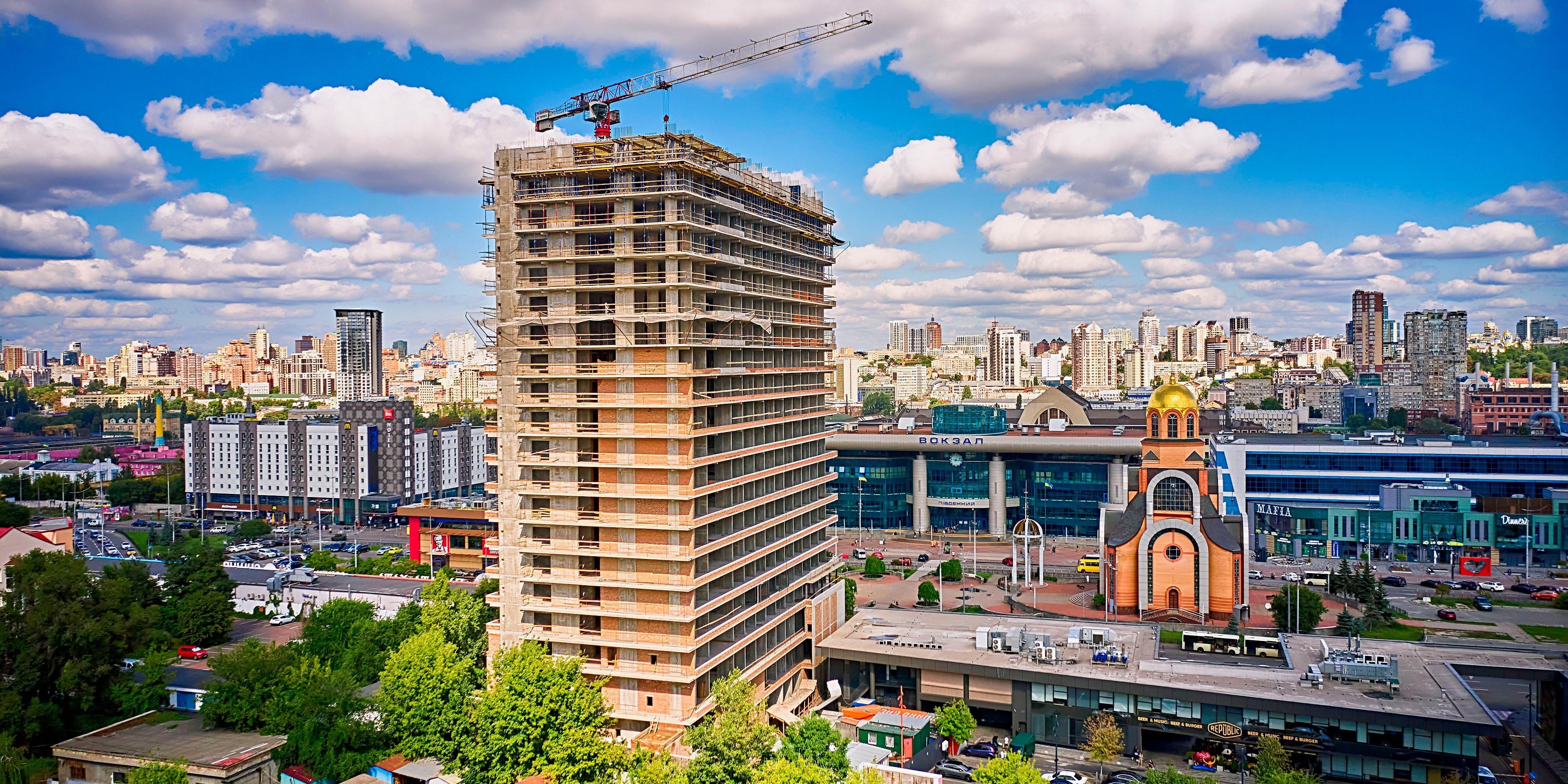 CONSTRUCTION PROGRESS OF S1 TERMINAL. August 2021