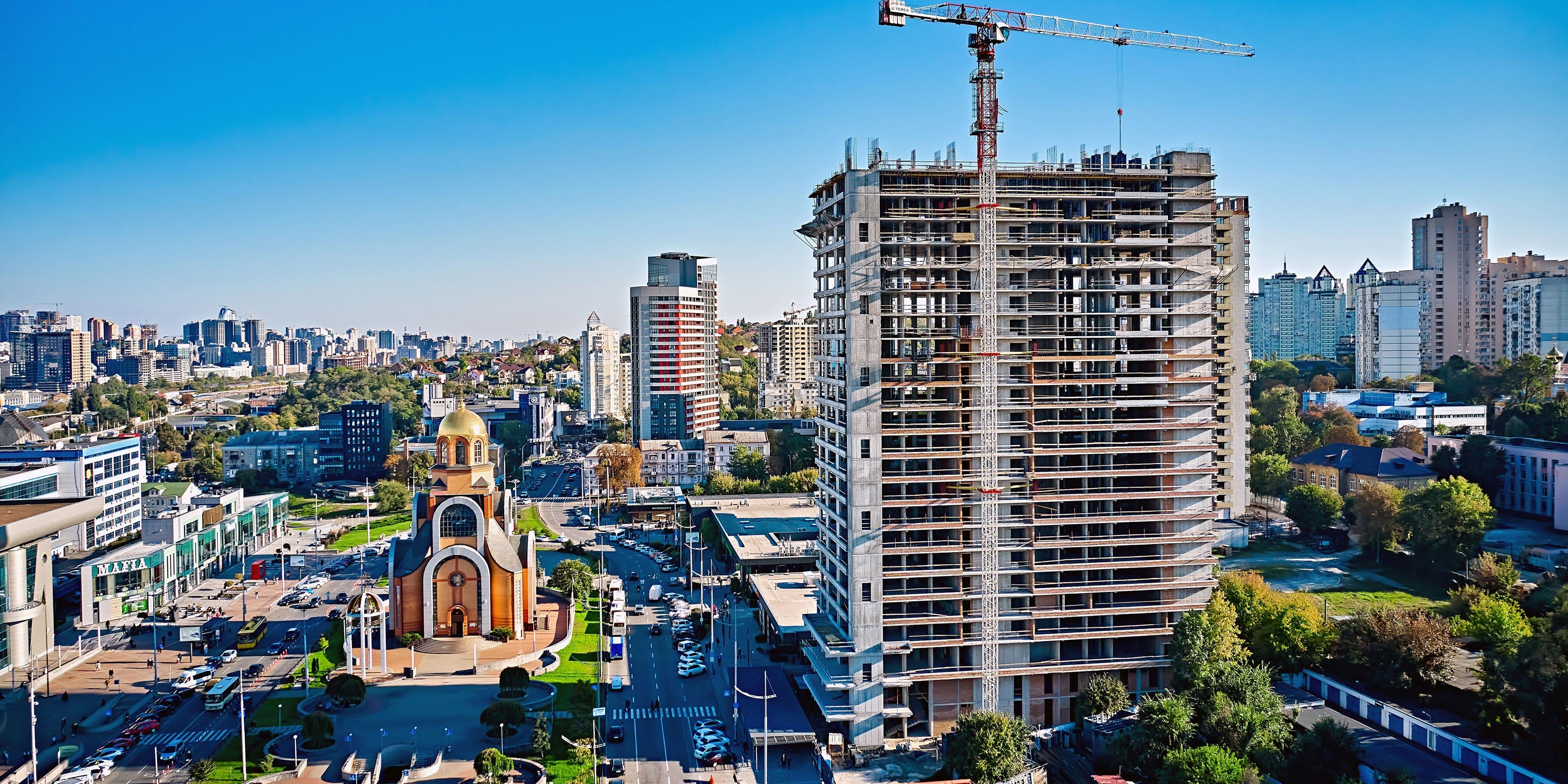 Construction progress of S1 TERMINAL. September 2021