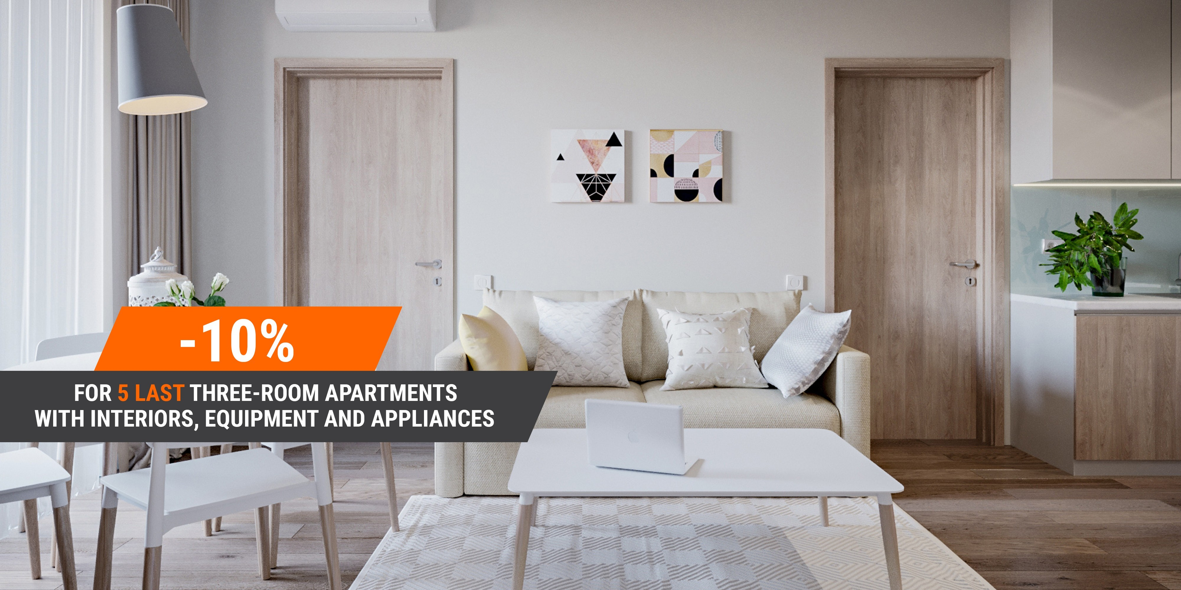 LAST 5 APARTMENTS OFFER FROM STANDARD ONE !