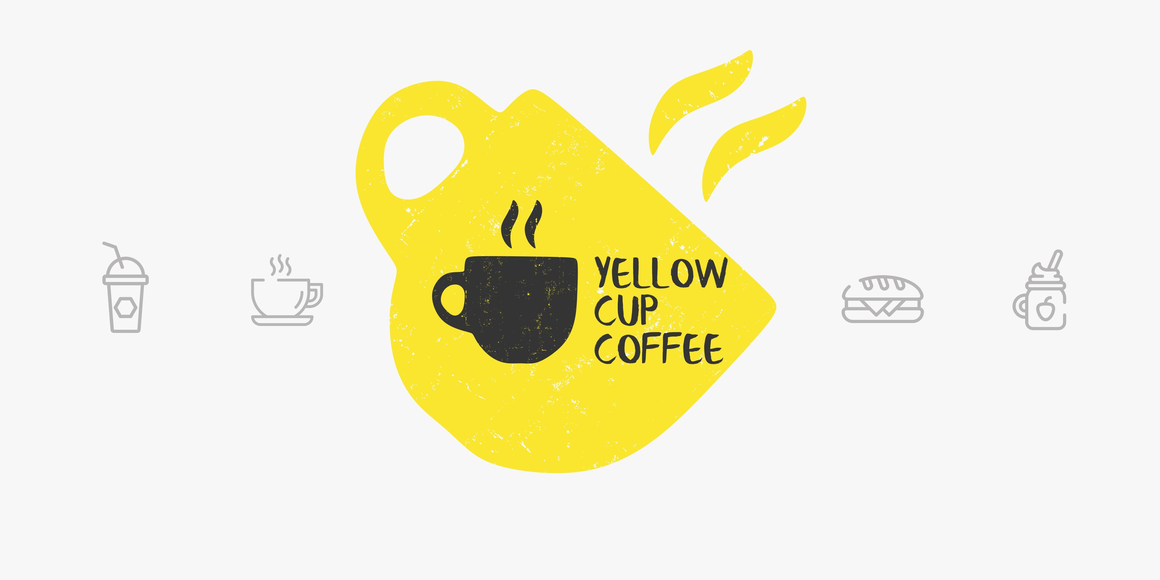 Yellow Cup Coffee in Standard One