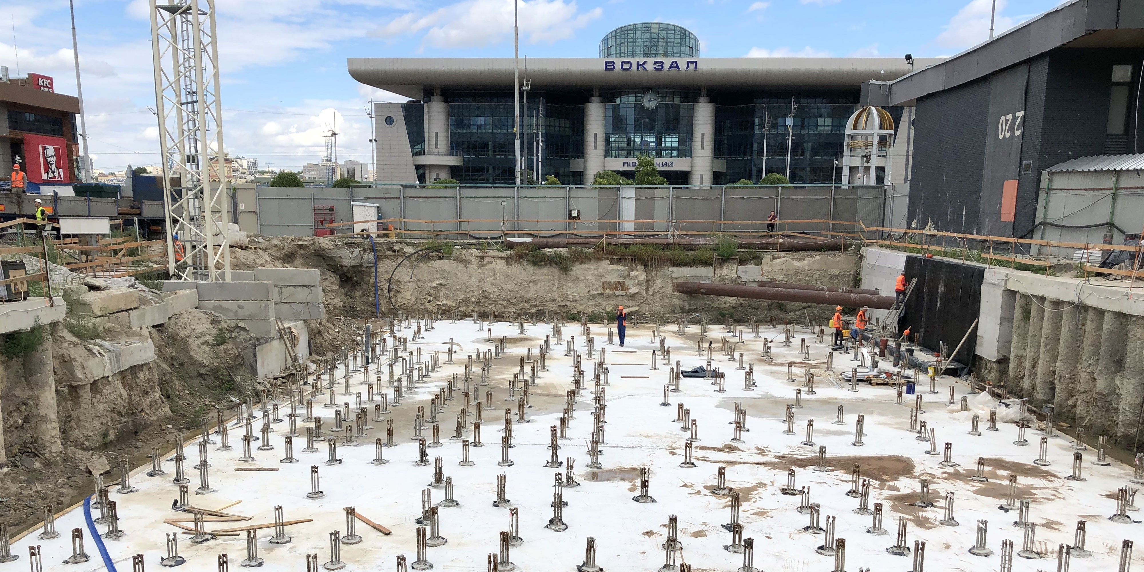 CONSTRUCTION PROGRESS S1 TERMINAL. AUGUST 2020