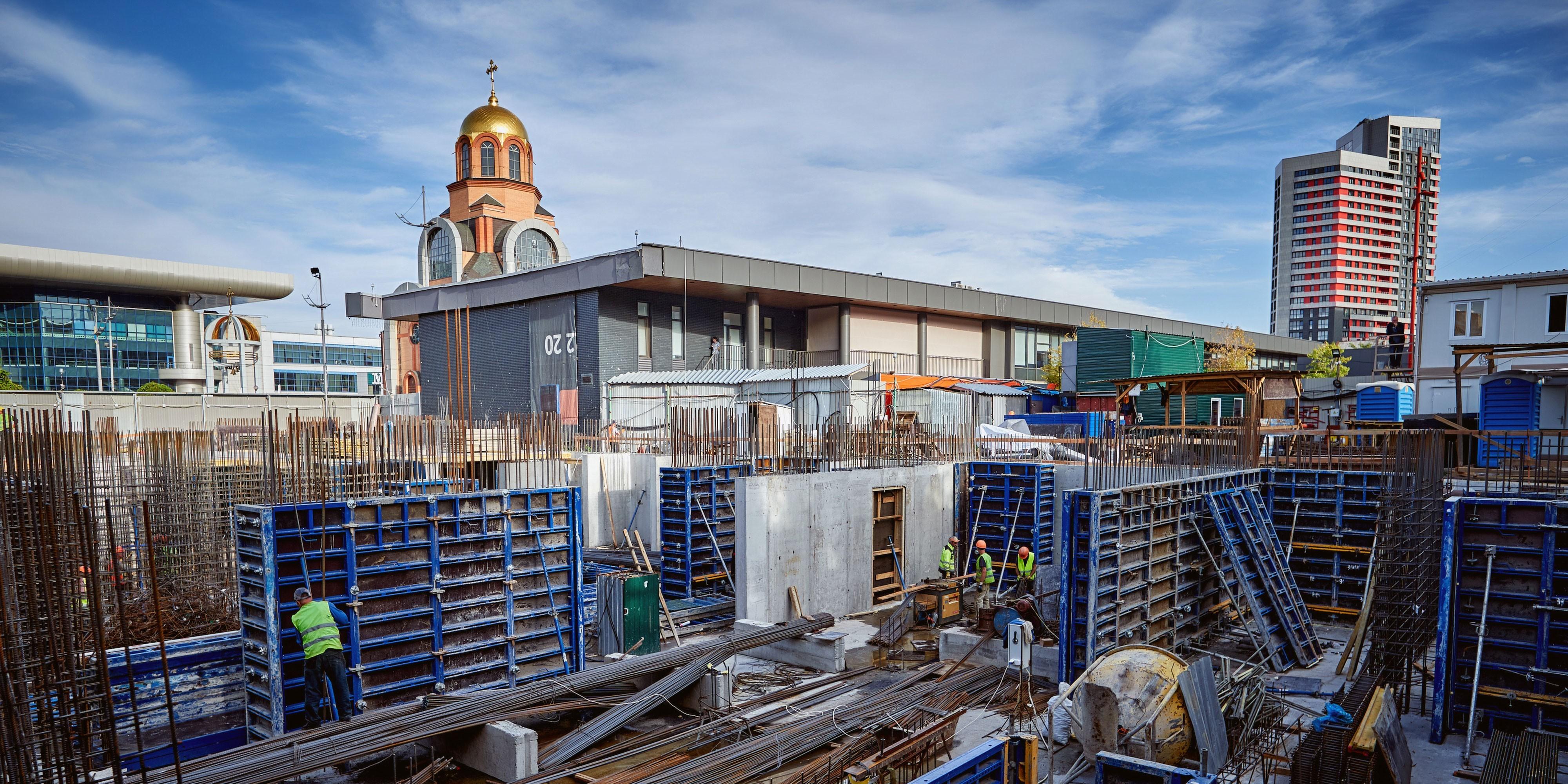 Construction progress of S1 TERMINAL. September 2020